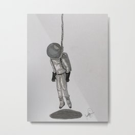 Hang in there. Metal Print