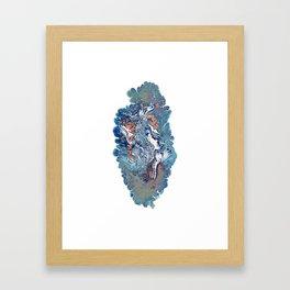 Covered Up In Virgin Snow 1 Framed Art Print
