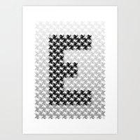 escher Art Prints featuring Escher mood by Nik Russo