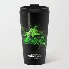 """VACA - MP: """"A Incrível Vaca"""" Travel Mug"""