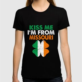Kiss Me Im From Missouri T-shirt