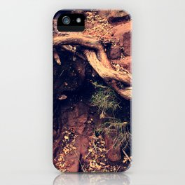 Into, the roots iPhone Case