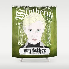 Draco Malfoy from Harry Potter  Shower Curtain