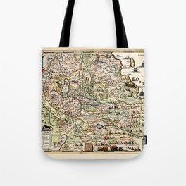 Map Of Ethiopia 1683 Tote Bag