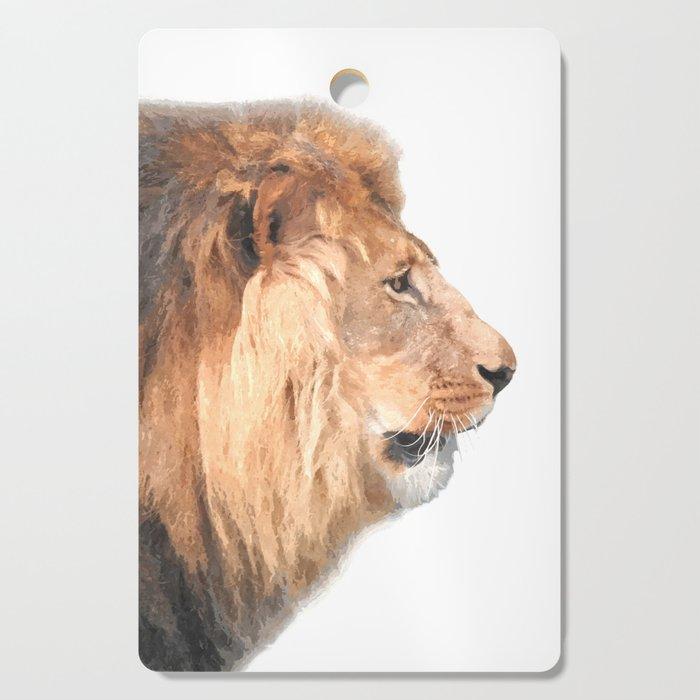 Lion Profile Cutting Board