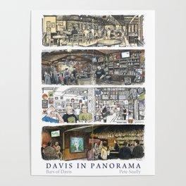 Davis Panorama Poster: Bars of Davis Poster