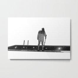 Pêche aux étoiles Metal Print