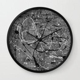Titanium Wall Clock