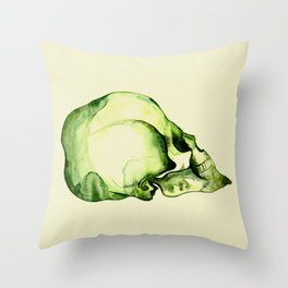 Painted Skull #2 Throw Pillow
