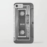 tape iPhone & iPod Cases featuring Tape by RMK Creative