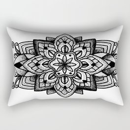 Mandala Curley Rectangular Pillow