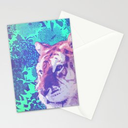 Tiger in abstraction 2 Stationery Cards