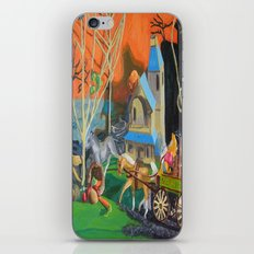 Haunted Ride iPhone & iPod Skin