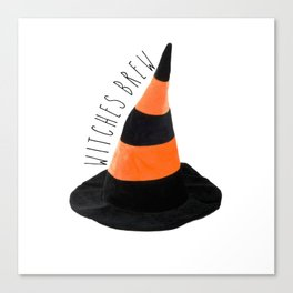 Witches Brew Halloween Canvas Print