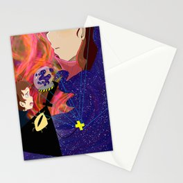 The rift has broken Stationery Cards