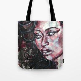 Red Watercolor Tote Bag