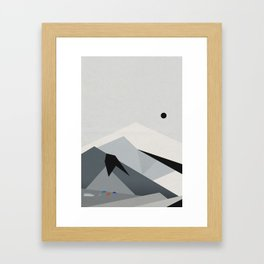 View From Skógafoss Framed Art Print