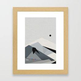 View From Skógafoss Framed Art Print