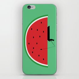 Watermelon Fisher iPhone Skin