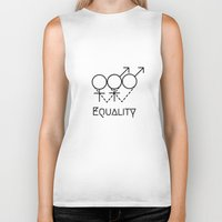 equality Biker Tanks featuring Marriage Equality by Purshue feat Sci Fi Dude