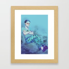 [disgruntled whale sounds] Framed Art Print