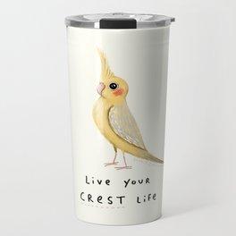 Live Your Crest Life Travel Mug