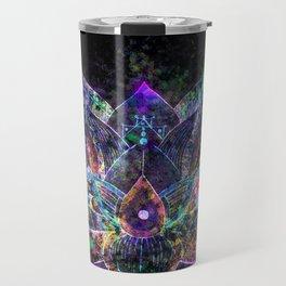 Lotus Flower Glow Travel Mug