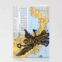 mexico Stationery Cards featuring Mexico  by Ursula Rodgers