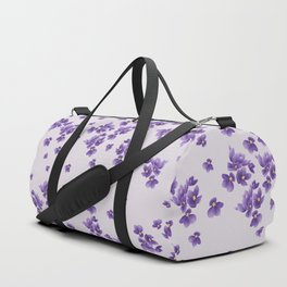 African Violets Duffle Bag
