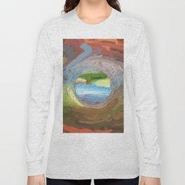 Abstract Mandala 212 Long Sleeve T-shirt