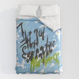 I've got that summertime madness blue Comforters
