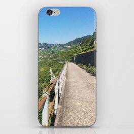Vineyards of Epesses, Switzerland iPhone Skin