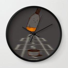 Hop Scotch Wall Clock