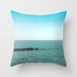 Nature photo - horizon Throw Pillow