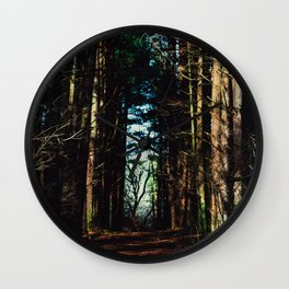 A walk through the woods Wall Clock