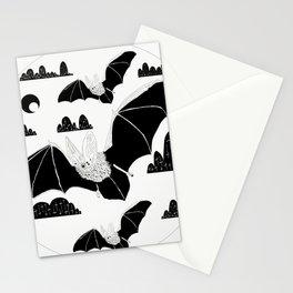 Bats on Bats Stationery Cards