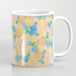Pastel Floral Coffee Mug