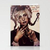 cthulhu Stationery Cards featuring CTHULHU by MYLÈNE BRAGINA