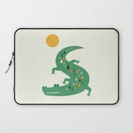 Sunbathing Laptop Sleeve