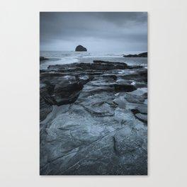 Gull Rock Seascape Canvas Print