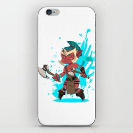 Troll Warlord iPhone Skin