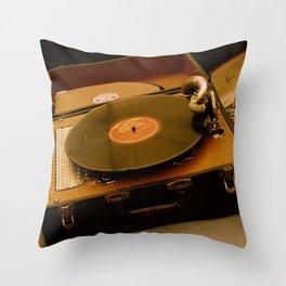 Victrola Throw Pillow