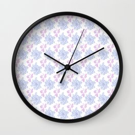 Ratking Flowers [candy] Wall Clock