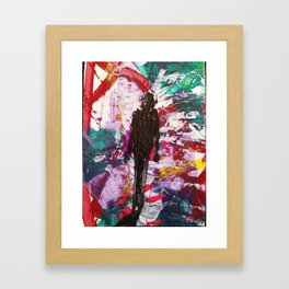 CHAOS OUT OF CHAOS 49 Framed Art Print