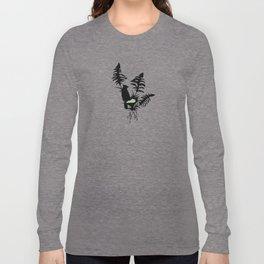 Kentucky - State Papercut Print Long Sleeve T-shirt
