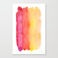 gradient Canvas Prints featuring Gradient by Diego Tirigall