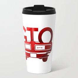 Pontiac GTO - classic red - Travel Mug