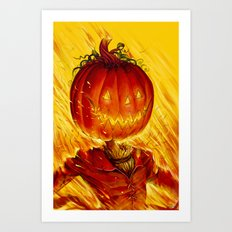 Jack, the Pumpkin King Art Print