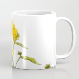 One sunflower watercolor arts Coffee Mug