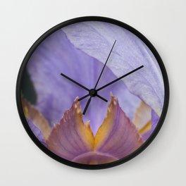 Iris Flower Wall Clock